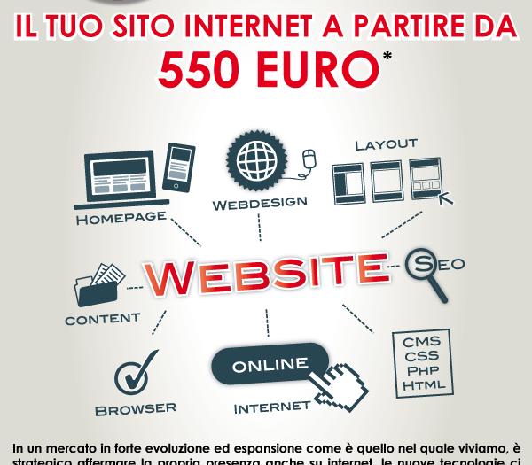 Ora anche tu puoi entrare nella rete: offerta Sito Internet Low Cost