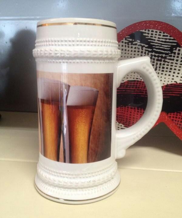 Boccali della birra con stampa quadricromia
