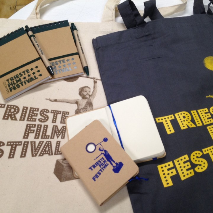 TRIESTE FILM FESTIVAL : gadget personalizzati
