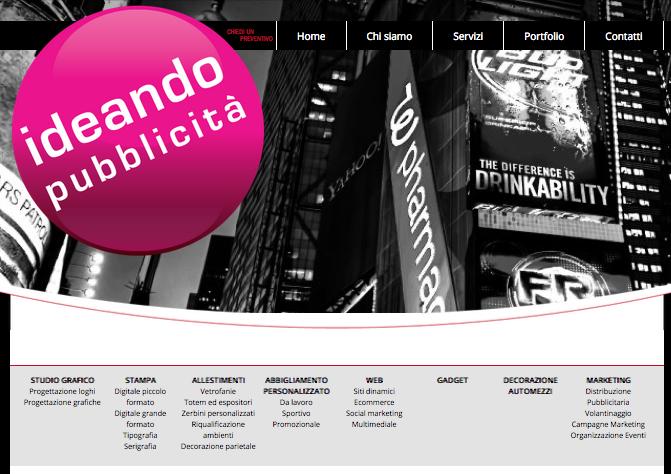TUTTE LE NOSTRE NEWS ... direttamente dal nostro Sito www.ideandopubblicita.it