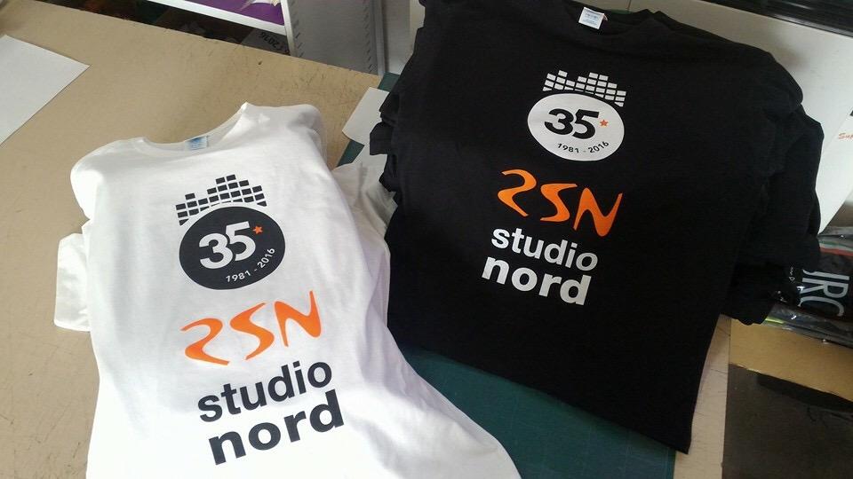 Tshirt RSN RADIO STUDIO NORD